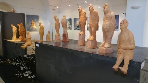 Série sculptures personnages